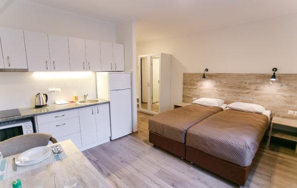 2-місні апартаменти-студіо (2-3 поверх без ліфту)